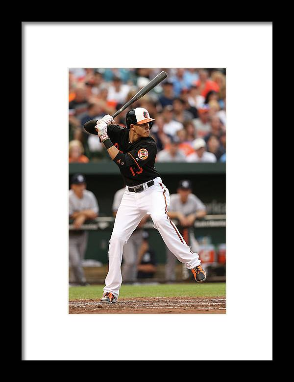 People Framed Print featuring the photograph Manny Machado by Patrick Smith