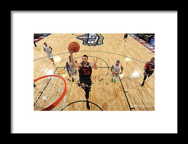 Event Framed Print featuring the photograph Marc Gasol by Andrew D. Bernstein