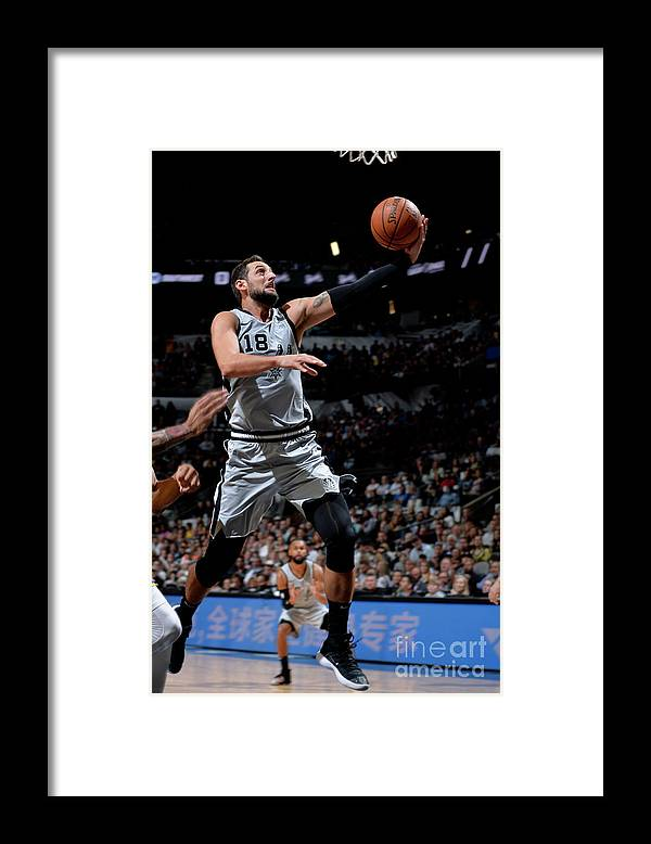 Nba Pro Basketball Framed Print featuring the photograph Marco Belinelli by Mark Sobhani