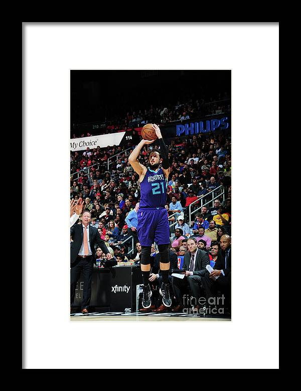 Atlanta Framed Print featuring the photograph Marco Belinelli by Scott Cunningham