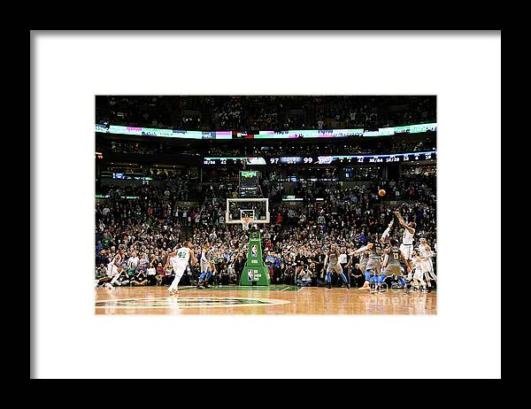 Nba Pro Basketball Framed Print featuring the photograph Marcus Morris by Brian Babineau