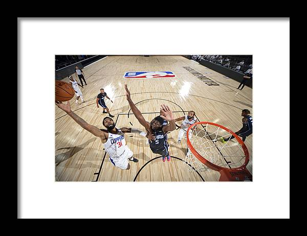 Nba Pro Basketball Framed Print featuring the photograph Marcus Morris by Jesse D. Garrabrant