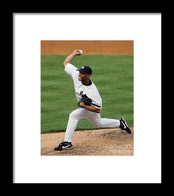 People Framed Print featuring the photograph Mariano Rivera by Jim Mcisaac