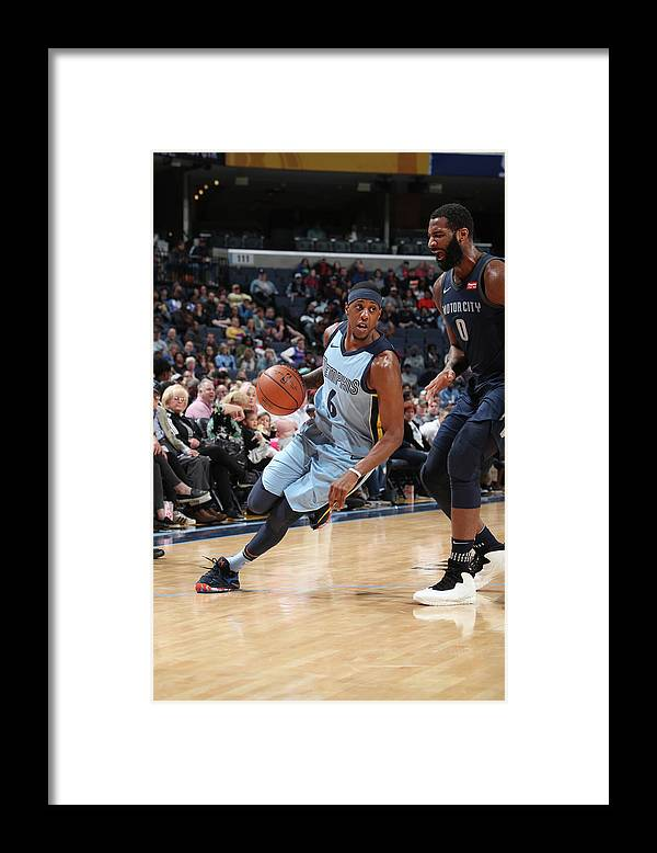 Sports Ball Framed Print featuring the photograph Mario Chalmers by Joe Murphy