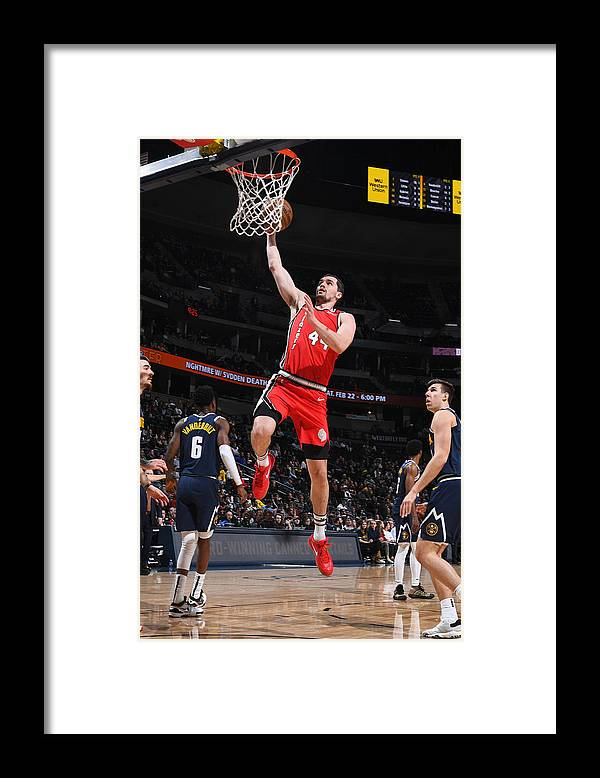 Nba Pro Basketball Framed Print featuring the photograph Mario Hezonja by Garrett Ellwood