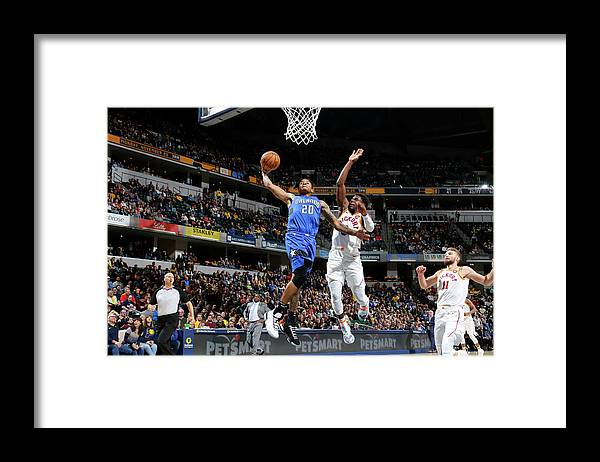 Nba Pro Basketball Framed Print featuring the photograph Markelle Fultz by Ron Hoskins