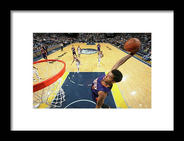 Nba Pro Basketball Framed Print featuring the photograph Marquese Chriss by Joe Murphy