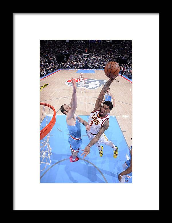 Nba Pro Basketball Framed Print featuring the photograph Marquese Chriss by Rocky Widner