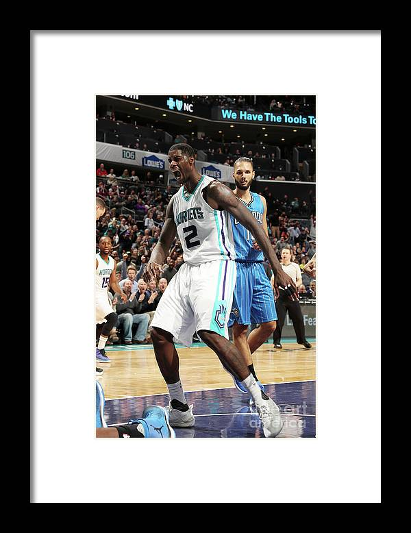 Nba Pro Basketball Framed Print featuring the photograph Marvin Williams by Kent Smith