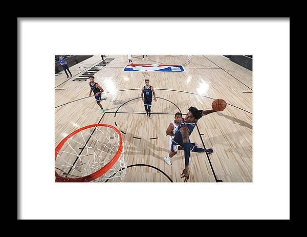 Nba Pro Basketball Framed Print featuring the photograph Memphis Grizzlies v Philadelphia 76ers by Joe Murphy