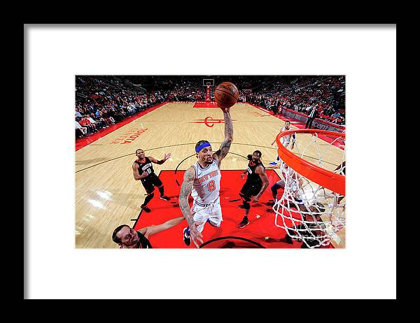 Michael Beasley Framed Print featuring the photograph Michael Beasley by Bill Baptist