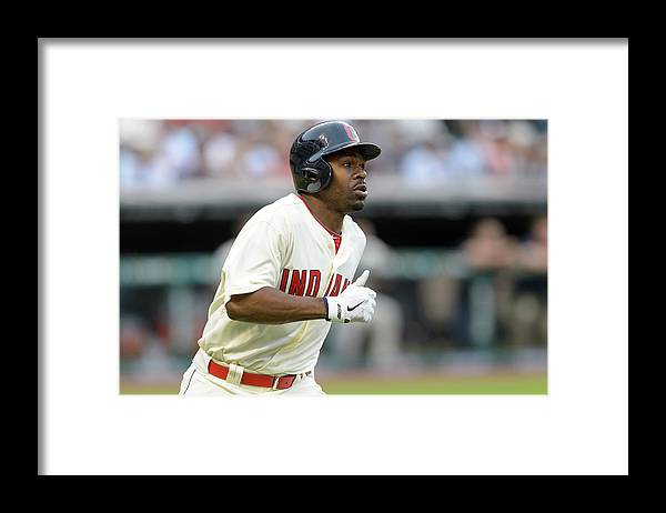 Michael Bourn Framed Print featuring the photograph Michael Bourn by Jason Miller