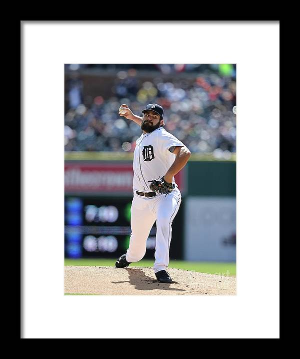 People Framed Print featuring the photograph Michael Fulmer by Leon Halip