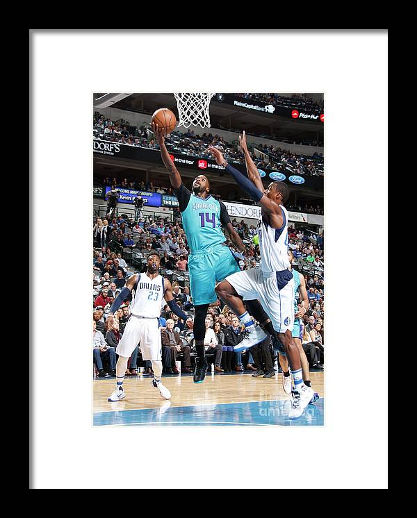 Nba Pro Basketball Framed Print featuring the photograph Michael Kidd-gilchrist by Danny Bollinger
