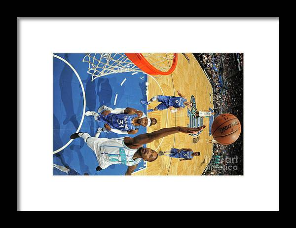 Nba Pro Basketball Framed Print featuring the photograph Michael Kidd-gilchrist by Fernando Medina
