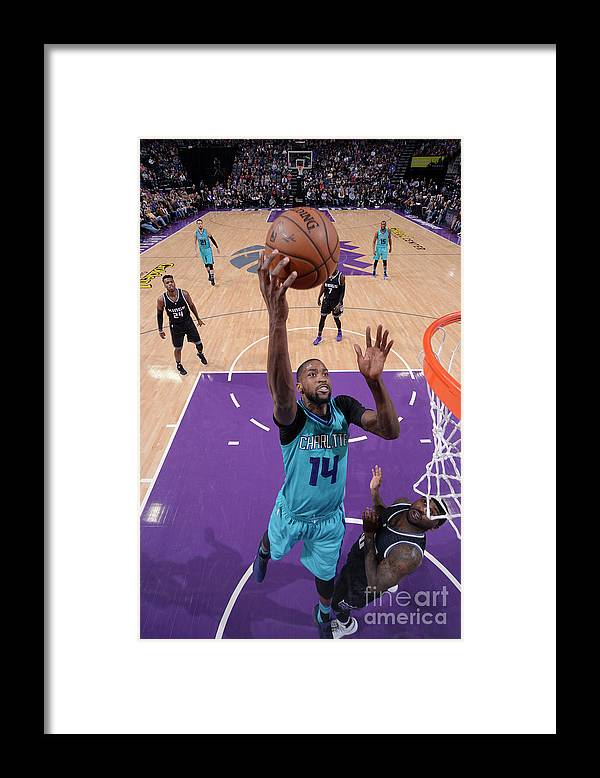 Nba Pro Basketball Framed Print featuring the photograph Michael Kidd-gilchrist by Rocky Widner