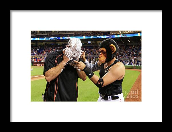 Three Quarter Length Framed Print featuring the photograph Miguel Rojas by Rob Foldy
