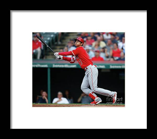 People Framed Print featuring the photograph Mike Clevinger by Ron Schwane