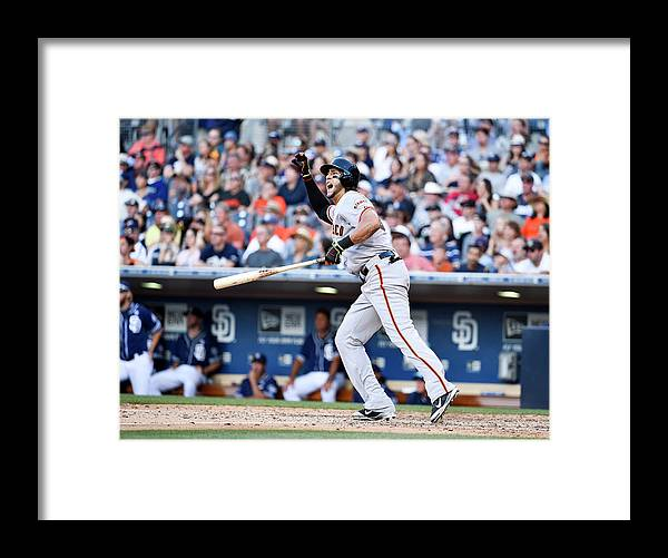 Ninth Inning Framed Print featuring the photograph Mike Morse by Denis Poroy