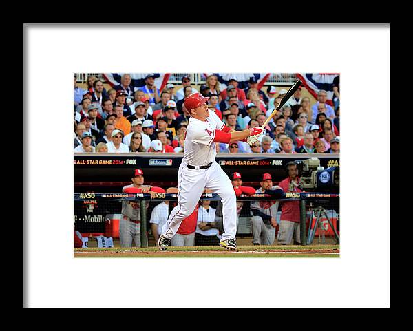 People Framed Print featuring the photograph Mike Trout by Rob Carr