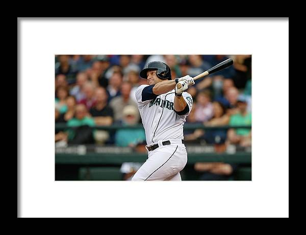 Second Inning Framed Print featuring the photograph Mike Zunino by Otto Greule Jr