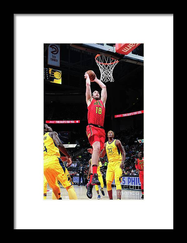 Atlanta Framed Print featuring the photograph Miles Plumlee by Scott Cunningham