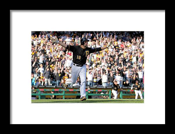 Professional Sport Framed Print featuring the photograph Neil Walker by Justin K. Aller