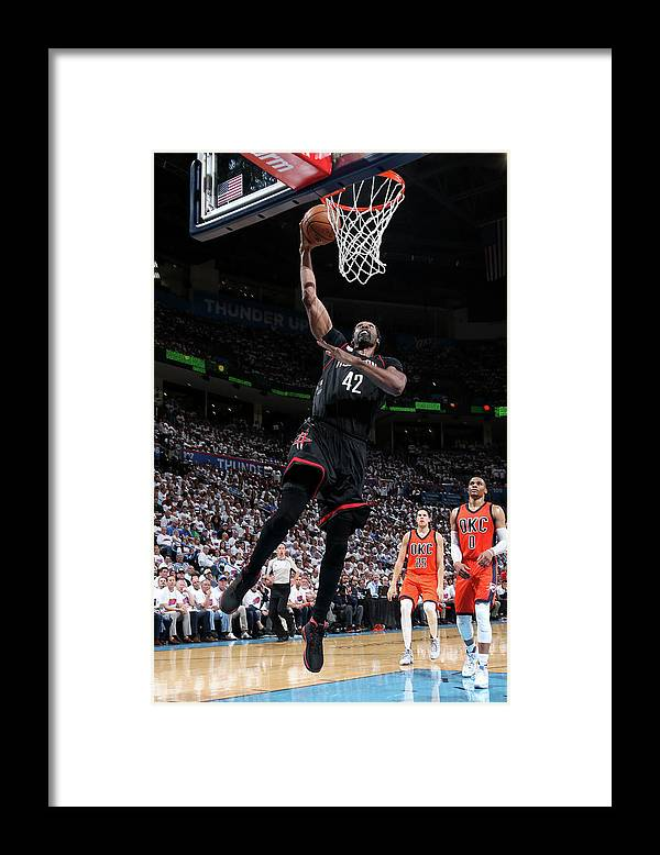 Playoffs Framed Print featuring the photograph Nene Hilario by Layne Murdoch