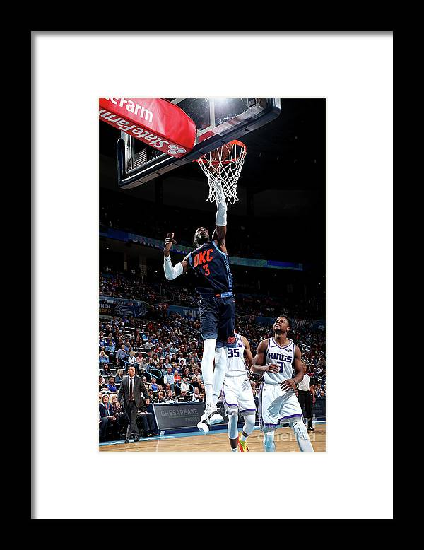 Nba Pro Basketball Framed Print featuring the photograph Nerlens Noel by Joe Murphy