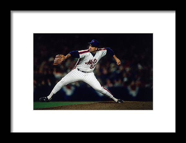1980-1989 Framed Print featuring the photograph New York Mets by Ronald C. Modra