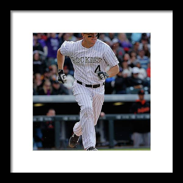 People Framed Print featuring the photograph Nick Hundley by Doug Pensinger
