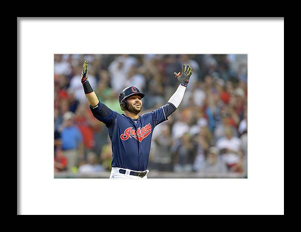 American League Baseball Framed Print featuring the photograph Nick Swisher by Jason Miller