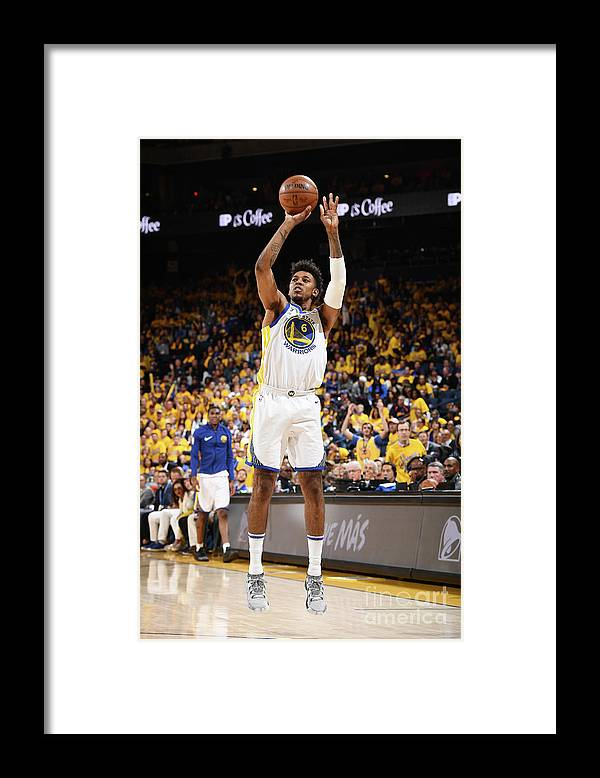 Playoffs Framed Print featuring the photograph Nick Young by Garrett Ellwood