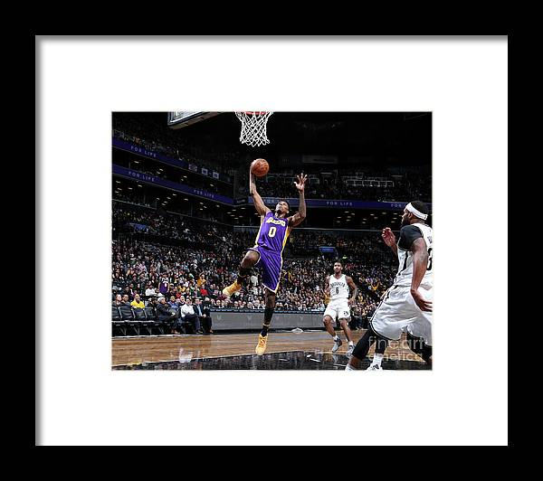 Nba Pro Basketball Framed Print featuring the photograph Nick Young by Nathaniel S. Butler