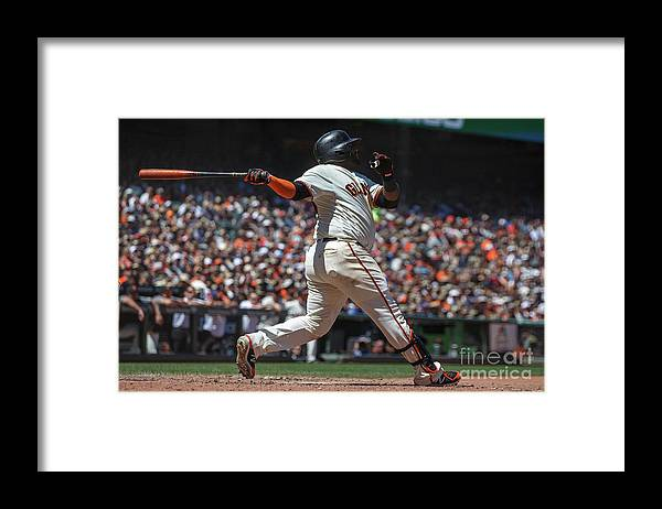 San Francisco Framed Print featuring the photograph Pablo Sandoval by Jason O. Watson