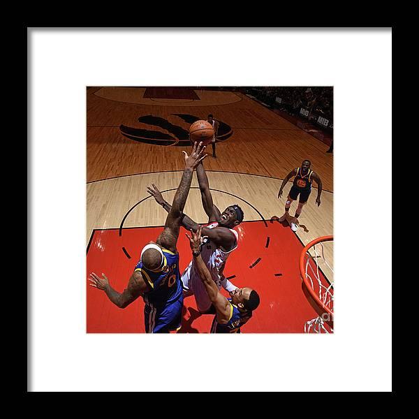 Playoffs Framed Print featuring the photograph Pascal Siakam by Garrett Ellwood