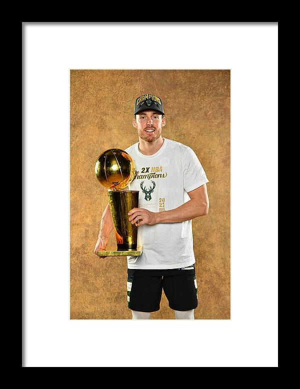 Playoffs Framed Print featuring the photograph Pat Connaughton by Jesse D. Garrabrant