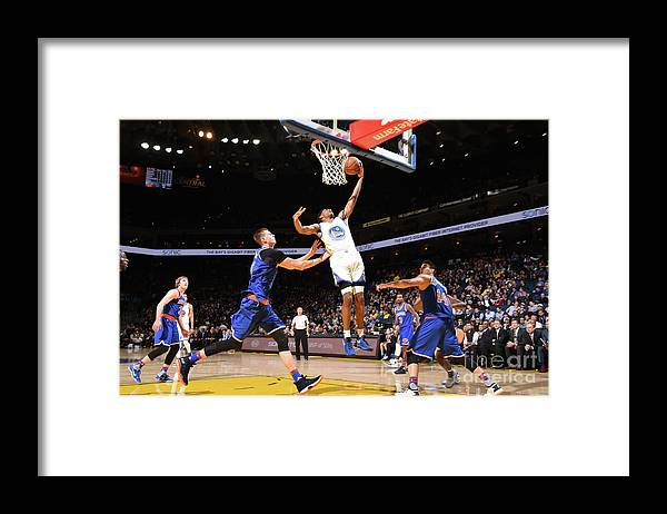 Nba Pro Basketball Framed Print featuring the photograph Patrick Mccaw by Andrew D. Bernstein