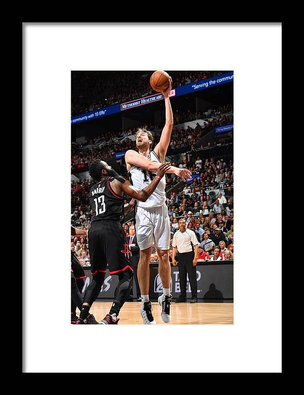 Playoffs Framed Print featuring the photograph Pau Gasol by Jesse D. Garrabrant