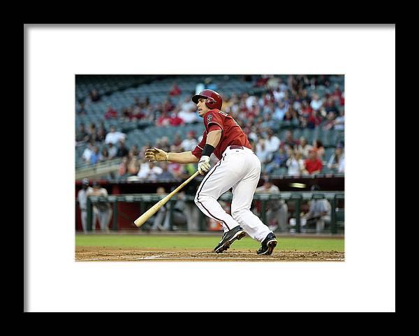 National League Baseball Framed Print featuring the photograph Paul Goldschmidt by Christian Petersen