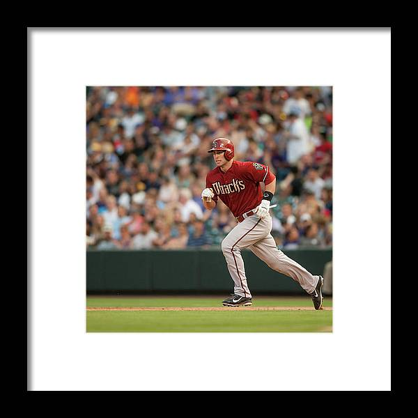 National League Baseball Framed Print featuring the photograph Paul Goldschmidt by Dustin Bradford