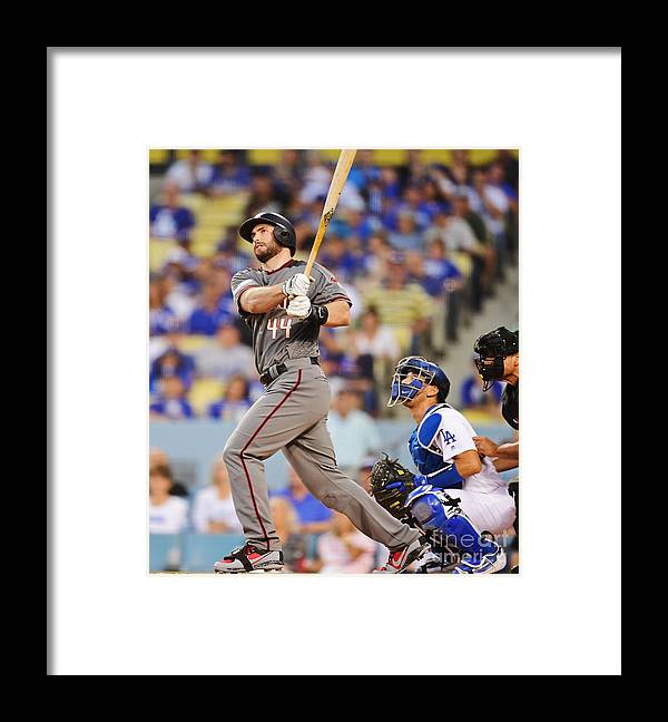 Game Two Framed Print featuring the photograph Paul Goldschmidt by Harry How