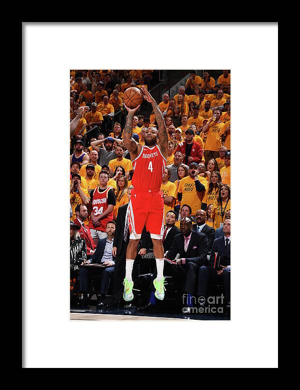 Playoffs Framed Print featuring the photograph P.j. Tucker by Andrew D. Bernstein