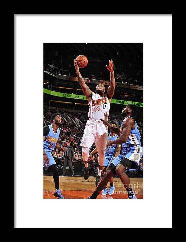 Nba Pro Basketball Framed Print featuring the photograph P.j. Tucker by Barry Gossage
