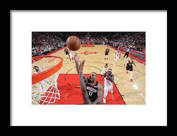 Nba Pro Basketball Framed Print featuring the photograph P.j. Tucker by Bill Baptist