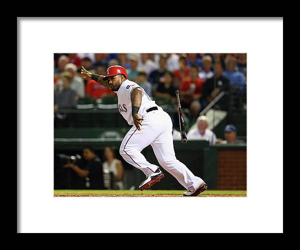 People Framed Print featuring the photograph Prince Fielder by Ronald Martinez