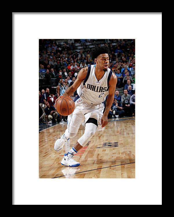 Nba Pro Basketball Framed Print featuring the photograph Quinn Cook by Glenn James