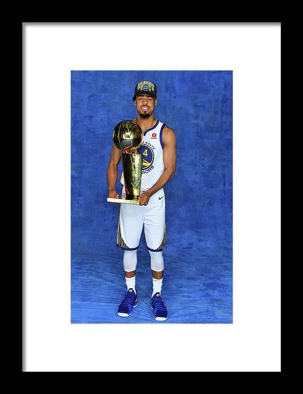 Playoffs Framed Print featuring the photograph Quinn Cook by Jesse D. Garrabrant