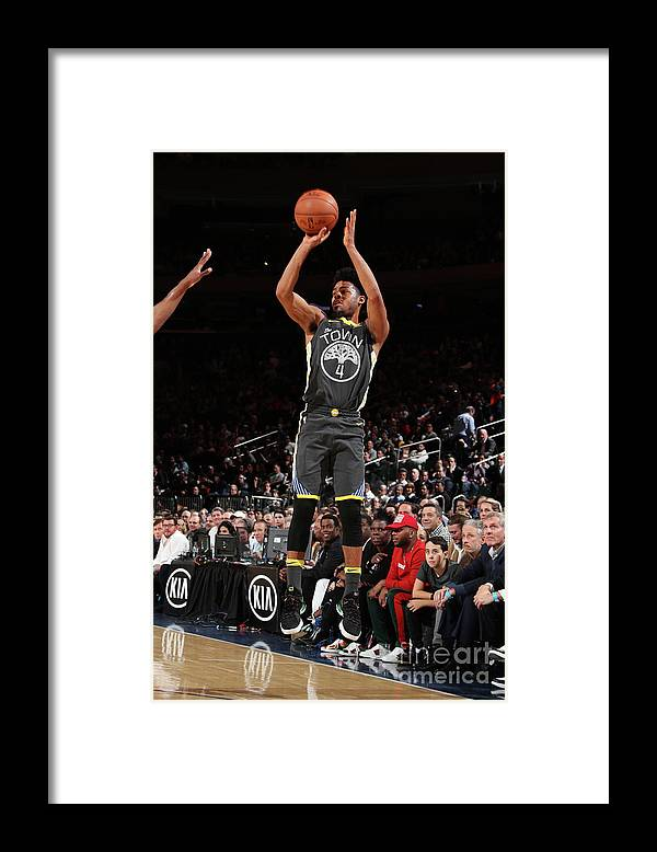 Nba Pro Basketball Framed Print featuring the photograph Quinn Cook by Nathaniel S. Butler