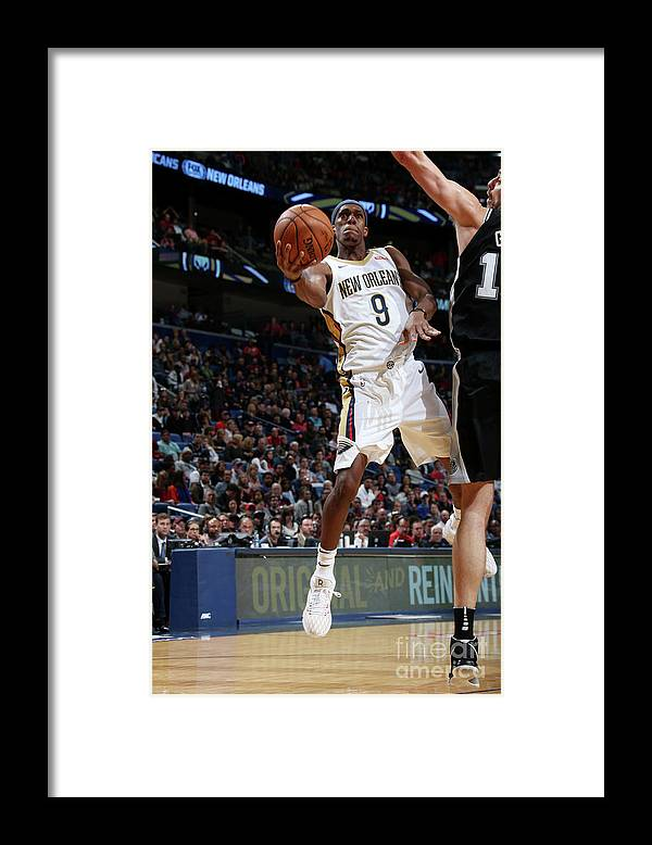 Smoothie King Center Framed Print featuring the photograph Rajon Rondo by Layne Murdoch Jr.